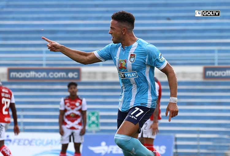 Nueve de Octubre goleó a Guayaquil City y escaló cinco puestos en la tabla