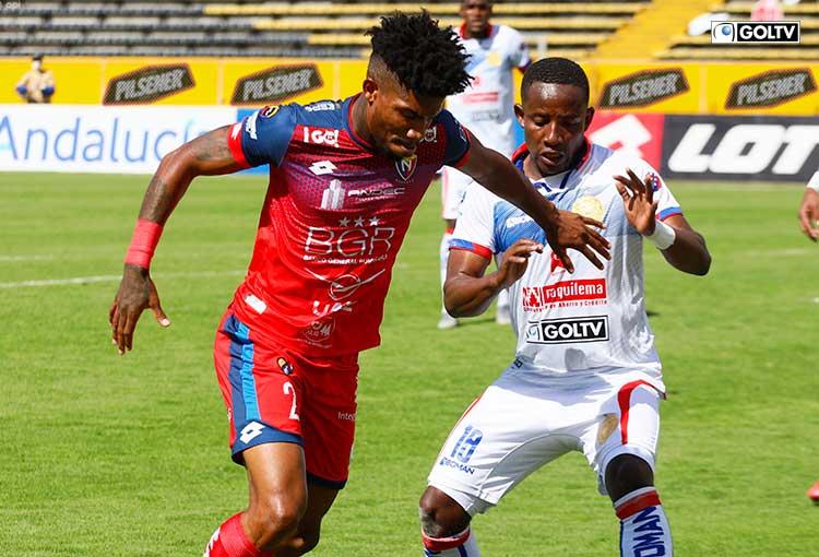 El Nacional venció a Olmedo en un partido que tuvo 5 goles