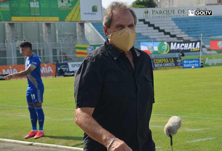 Patricio Lara no continuará como DT de Orense