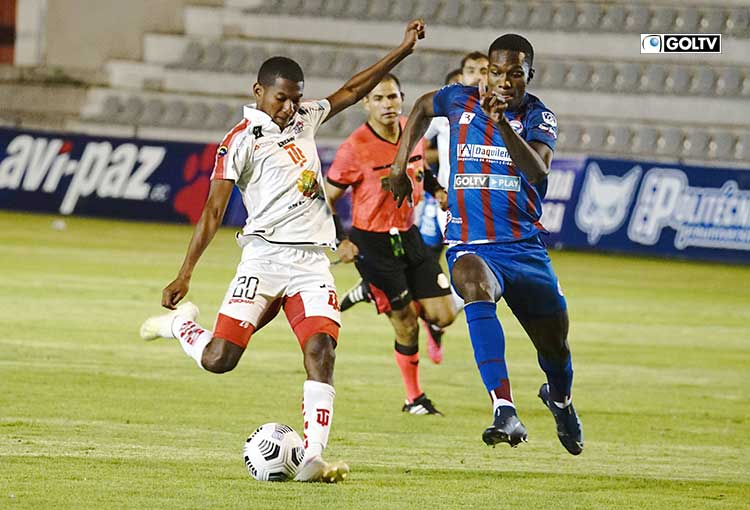 Técnico Universitario y Olmedo empataron sin goles en Ambato
