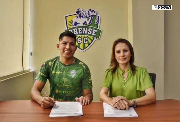 Bruno Vides es nuevo refuerzo de Orense Sporting Club