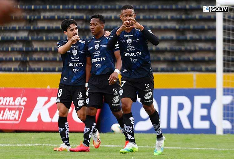 Independiente del Valle venció a El Nacional y se mantiene en zona de Libertadores