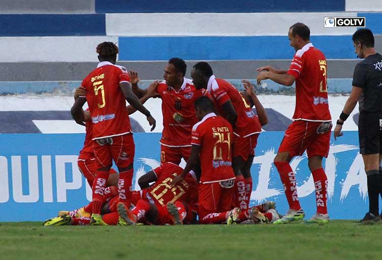 Técnico Universitario venció a Nueve de Octubre con gol de Jhon Pereira