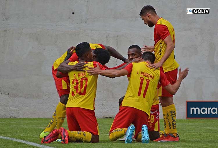Aucas comenzó con pie derecho al vencer 3-1 a Mushuc Runa en Ambato