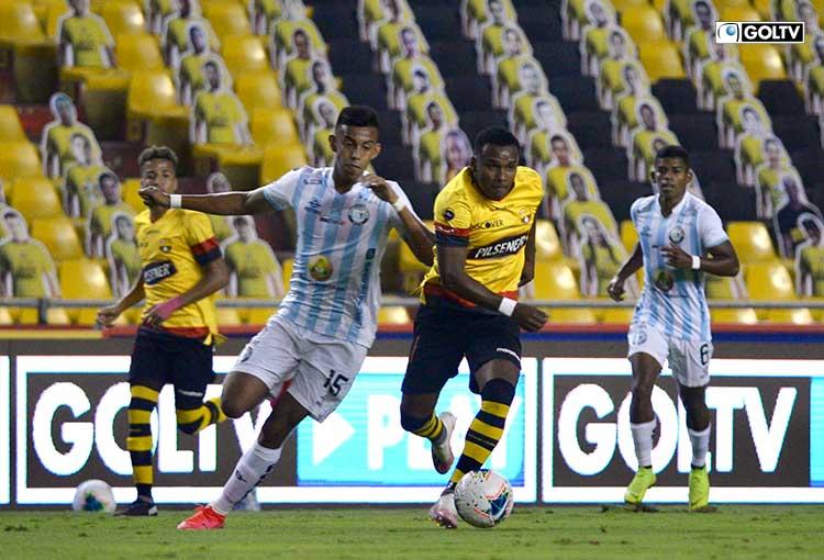 Barcelona mide fuerzas ante Guayaquil City en el Cristian Benítez