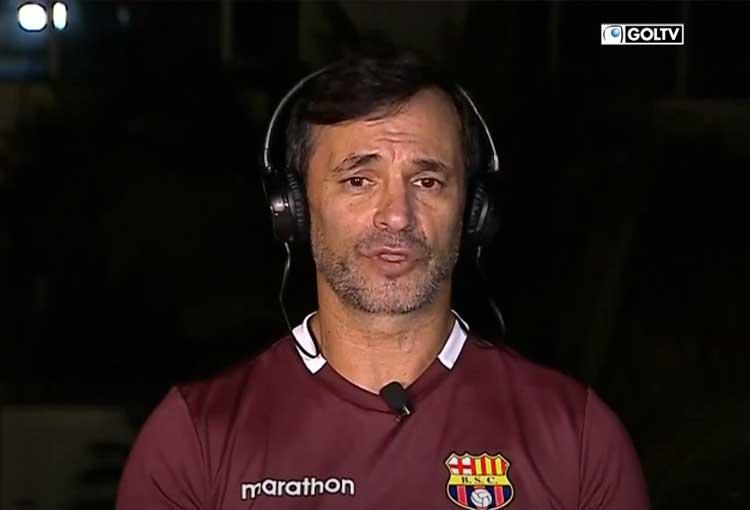 """Fabián Bustos: """"Sigo siendo argentino, pero me siento un manaba más"""""""