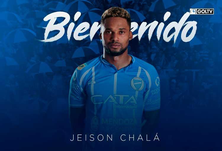 Jeison Chalá fue anunciado como nuevo refuerzo de Godoy Cruz
