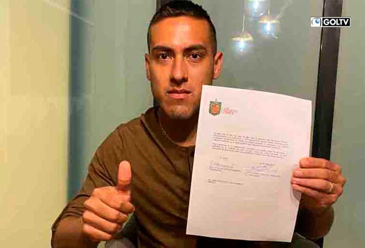 Deportivo Cuenca anunció a Luis Andrés Chicaiza como su nuevo refuerzo