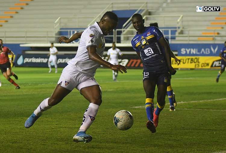Liga de Quito cayó ante Delfín y no podrá ser campeón directo