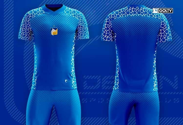 Delfín SC presentó su uniforme 2021