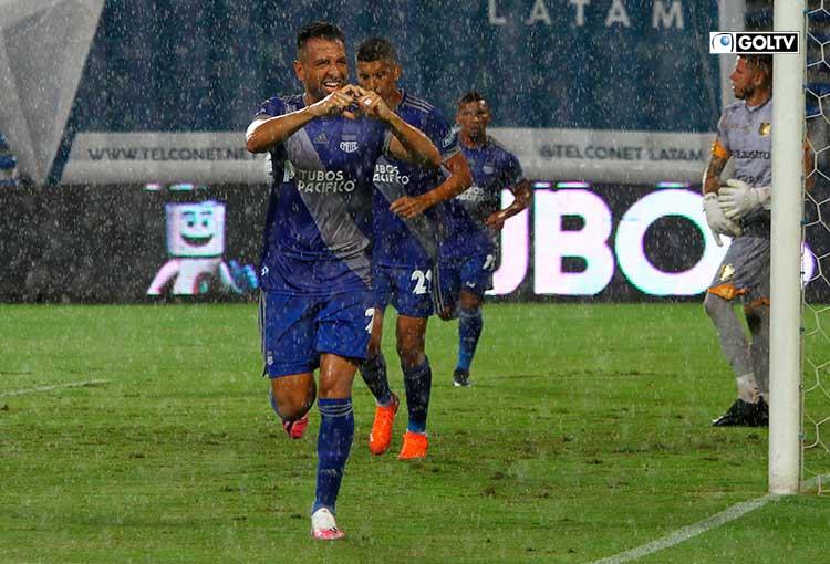 Emelec goleó 4-1 al Deportivo Cuenca en el George Capwell