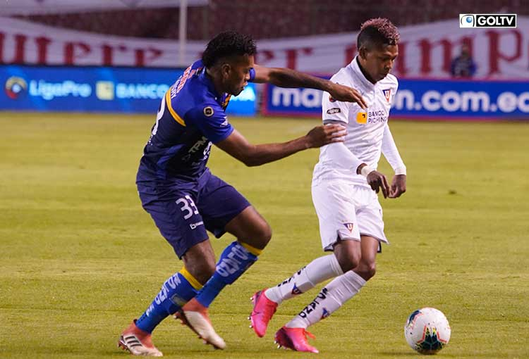 Liga de Quito visita a Delfín con el objetivo de sacar los 3 puntos