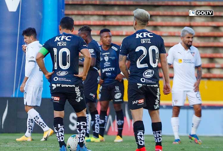 LDU e IDV juegan Copa Libertadores antes de su duelo por Liga Pro