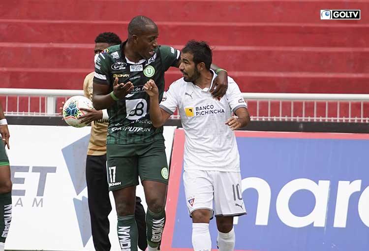 Liga de Quito no pudo de local ante LDUP y se aleja del primer lugar