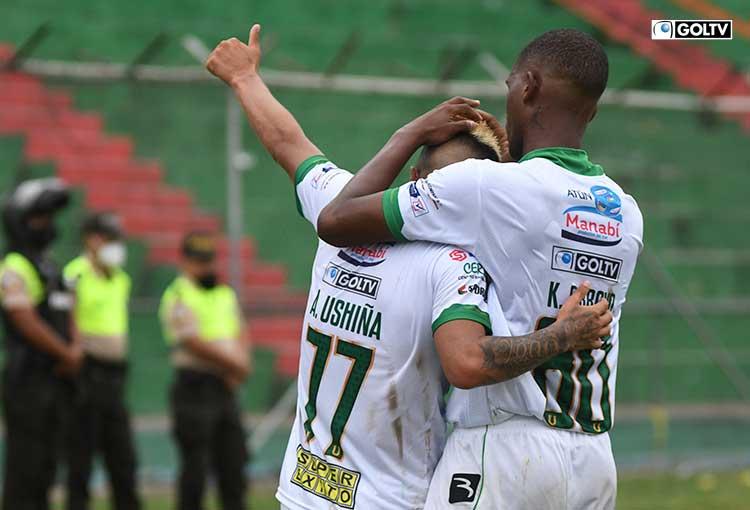 Liga de Portoviejo derrotó a Universidad Católica y salió del último lugar