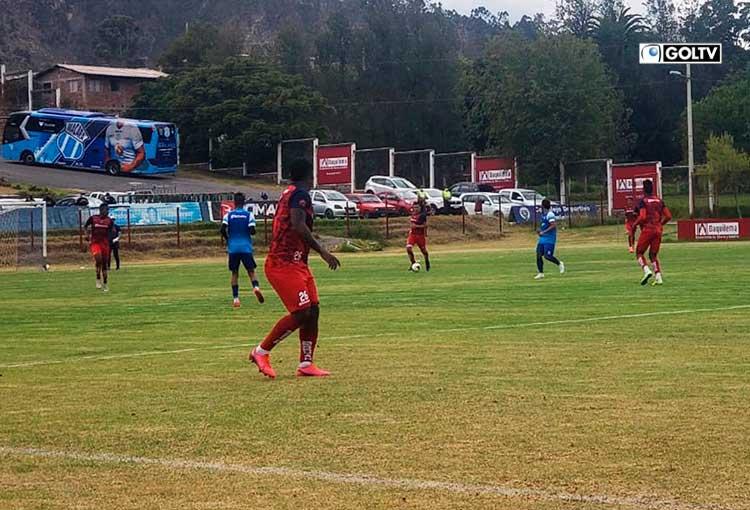 Olmedo y Macará se enfrentaron en un partido amistoso