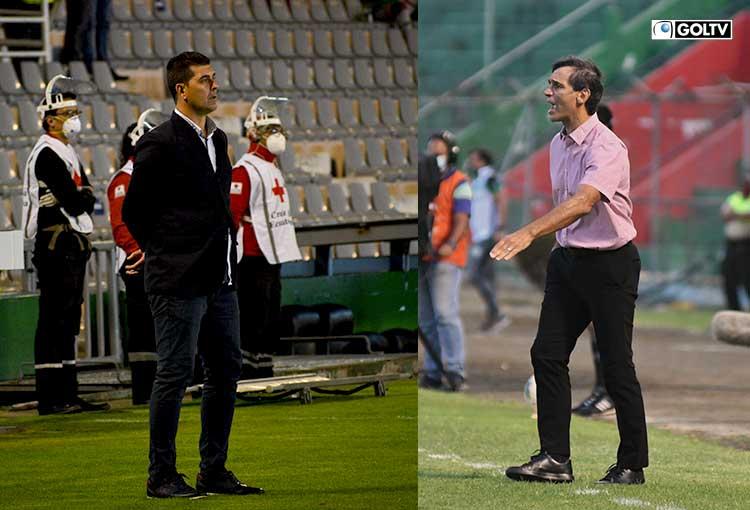 Ismael Rescalvo y Fabián Bustos se enfrentarán por quinta vez en la Liga Pro Serie A