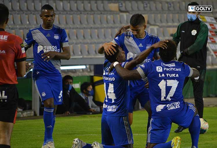 Emelec venció a Mushuc Runa y sigue puntero de la Liga Pro Serie A