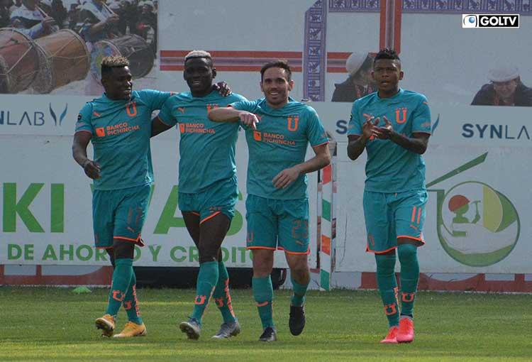 Liga de Quito logró una buena victoria ante Mushuc Runa en Ambato