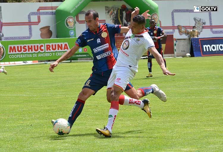 Mushuc Runa y Olmedo empataron en Ambato