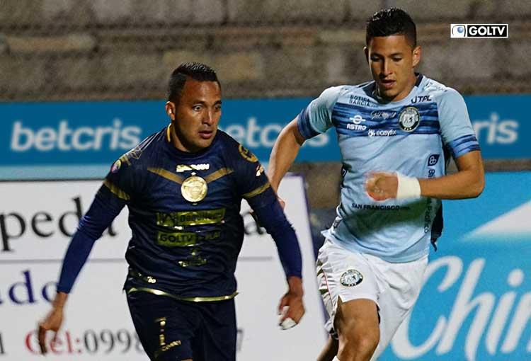 Olmedo empató con Guayaquil City en Riobamba