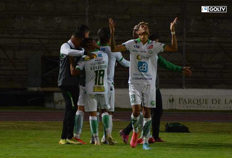 Liga de Portoviejo venció a Olmedo y sigue con vida en el torneo
