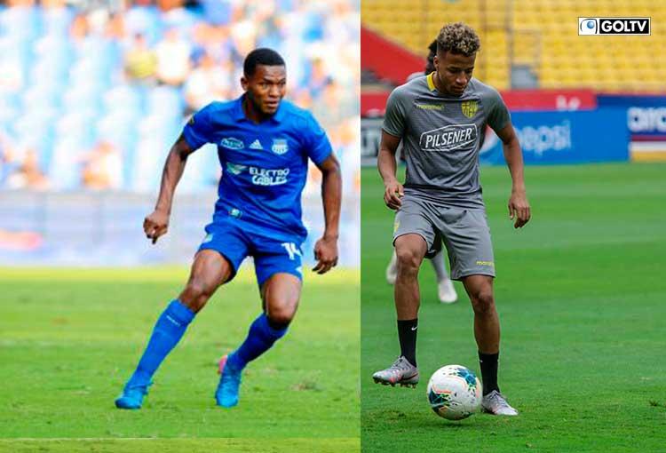 Romario Caicedo y Byron Castillo, duelo de los mejores laterales derechos del país