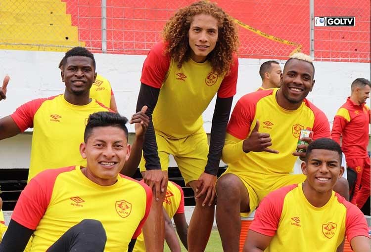Sociedad Deportiva Aucas regresó a los entrenamientos