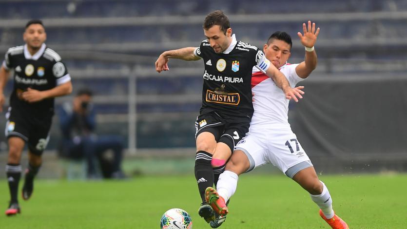 Empate a uno entre Deportivo Municipal y Sporting Cristal