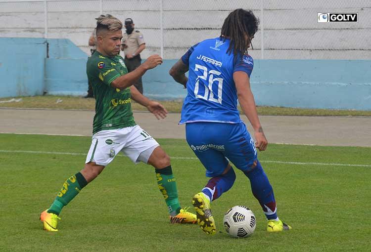 Orense y Olmedo dividieron honores en Machala