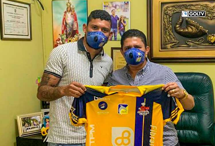 Jefre Vargas es nuevo refuerzo de Delfín SC